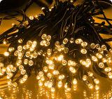 Lumière féerique actionnée solaire imperméable à l'eau de chaîne de caractères de DEL