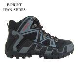 Сильная сила Hiking текстуры PU ботинок качество самой лучшей хорошее