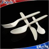 생물 분해성 칼붙이 PLA 처분할 수 있는 테이블 서비스 제품