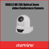 USB3.0 HD 1080P/60 20X зум сетевые PTZ камера для видеоконференций