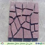 Строительный материал Putian красной гранитной плитки красного гранита асфальтирование каменными/кубиками