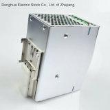 Hdr-120 de enige Macht van het Spoor van de Output Industriële DIN levert 88-132 VAC/176-264VAC AC aan gelijkstroom 12V 10A