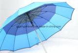 [هيغقوليتي] مظلة مستقيمة, ألومنيوم قصبة الرمح, خطّاف بلاستيكيّة مطّاطة طلية مقبض