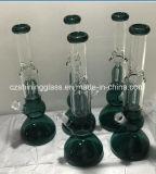Das Brennkolben-Form-Fabrik-Preis-rauchende Wasser-Glasrohr (CZS-059)