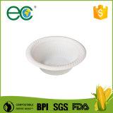 Ciotola dell'amido di mais/ciotole biodegradabili a gettare gelato