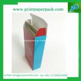 Perfumes de encargo del papel de la cartulina de la alta calidad que empaquetan los rectángulos de regalo de lujo