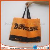 Impresión de pantalla de seda personalizada comercial promocional Bolsa no tejido