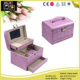 Elegantes joyas de lujo personalizado Embalaje Expositor Joyero (8557)