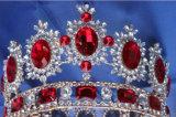 Сбор винограда кроны украшения диаманта невесты кроны тиары крона венчания ювелирных изделий круглого кристаллический европейского барочная (J01)