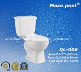 Acqua sanitaria degli articoli che salva le tolette a due pezzi per la stanza da bagno (DL-006)