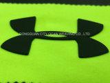 Personalizar a injecção do molde de silicone Logotipo da transferência de calor amplamente utilizado para acessórios de vestuário