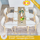 Modern Marble Home Furniture Marble Retro Industrial Dining Counts (HX-8DN024)