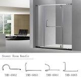 현대 디자인 샤워실 스테인리스 기계설비 이음쇠 유리제 문 손잡이
