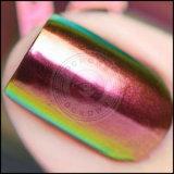 Poudre brillante d'art de clou d'effet de miroir de caméléon de colorant de chrome