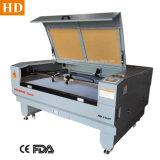 Handtasche PU-Kurbelgehäuse-Belüftung Laser-Ausschnitt-Maschine 1410