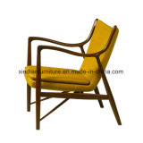 Cadeira de madeira da sala de jantar nórdica do estilo do lazer
