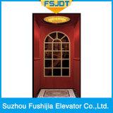 Elevador comercial do passageiro do edifício de Fushijia com quarto pequeno da máquina