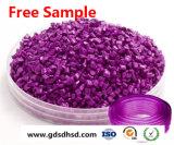 Пластмассовые гранулы Masterbatch фиолетовый цвета Фиолетовый 25кг/Bag PP гранулы