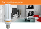 U-Form, die energiesparende Lampe mit Cer RoHS genehmigt beleuchtet