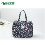 Kundenspezifischer Muster-Entwurfs-Polyester-Handgroßhandelsbeutel für Damecustom Fashion Tote-Beutel/Arbeitsweg-Beutel/Speicherbeutel