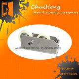 Rouleau de guichet d'acier inoxydable de qualité pour le guichet et la porte de glissement