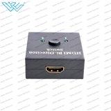 Interruptor manual del interruptor HDMI 2.0 Ab del Al de la BI-Dirección de HDMI 2.0
