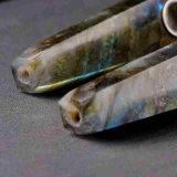 Tubo di fumo materiale naturale di fumo del tubo della mano della pietra dell'indicatore luminoso di luna del tubo della mano