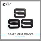 Inarcamenti di alluminio dell'amo di G del metallo di Carabiner di registrazione nera di colore