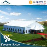 barraca do casamento do evento do partido do estiramento de 10X30m com telhado bonito