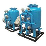 産業リサイクルの砂フィルター水ろ過システム
