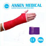 As fitas de fundição ortopédica Medical bandagem de fibra de vidro
