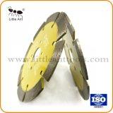 도매 다이아몬드 세그먼트 및 다이아몬드 잎, 다이아몬드 안내장은 돌 절단 돌 공구를 위해 톱날을
