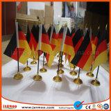 Cheap multinacional personalizada bandera para la venta de escritorio