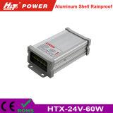 24V 2.5A 60W LED Schaltungs-Stromversorgung Htx des Transformator-AC/DC