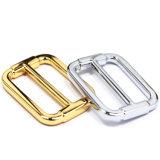 A curvatura quente do slider da barra do centro da liga do zinco do metal da venda para o saco parte os acessórios dos bens do couro de sapatas da curvatura de correia (YK957A)