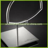 Présentoir de luxe de contre- dessus de bijou en métal rotatif