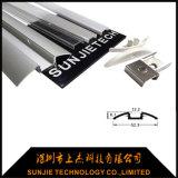 Vertieftes Aluminium-LED-Profil für Jobstepp-Licht mit zwei Flanschen
