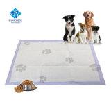 Щенок поездки портативный одноразовый сбор собак панель с хлопковой целлюлозы пуха ткань