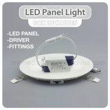 As luzes do painel de LED 6W 12W 18W 24W ao redor das luzes de LED do painel