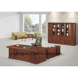 木の家具の管理の主任表の事務机Yf-2006