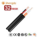 Verdrehtes Rg59+2c Kabel koaxial mit Energie CCTV-Draht