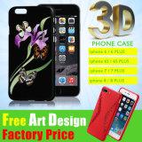 Cassa su ordinazione del telefono mobile del coperchio/silicone del silicone degli accessori del telefono delle cellule 3D di alta qualità per il iPhone
