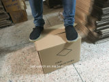 Rectángulo acanalado al por mayor vendedor caliente del cartón para el envío y el transporte