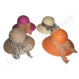 Cappello della benna della paglia di pesca di modo di estate