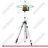 Nível laser giratório automático Self-Levelling 200hvg (verde) com a pilha seca