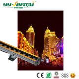 유행하는 36W RGB/Single 색깔 방수 LED 벽 세탁기 빛