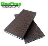 Feuille composée en plastique en bois de l'étage WPC de Decking extérieur imperméable à l'eau