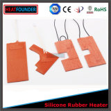 Calefator personalizado flexível da borracha de silicone