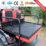 Chariot de golf électrique de la vente 6 de Seater 4 d'entraînement chaud de roue