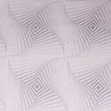 La fabbrica cinese fornisce il tessuto domestico lavorato a maglia jacquard di prezzi competitivi per il materasso ed il cuscino